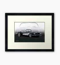 1958 Chevrolet Corvette 'Composite I' Framed Print