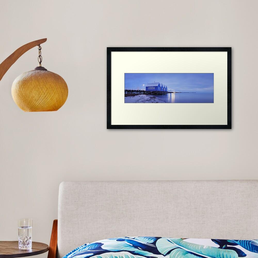 Busselton Jetty, Western Australia Framed Art Print