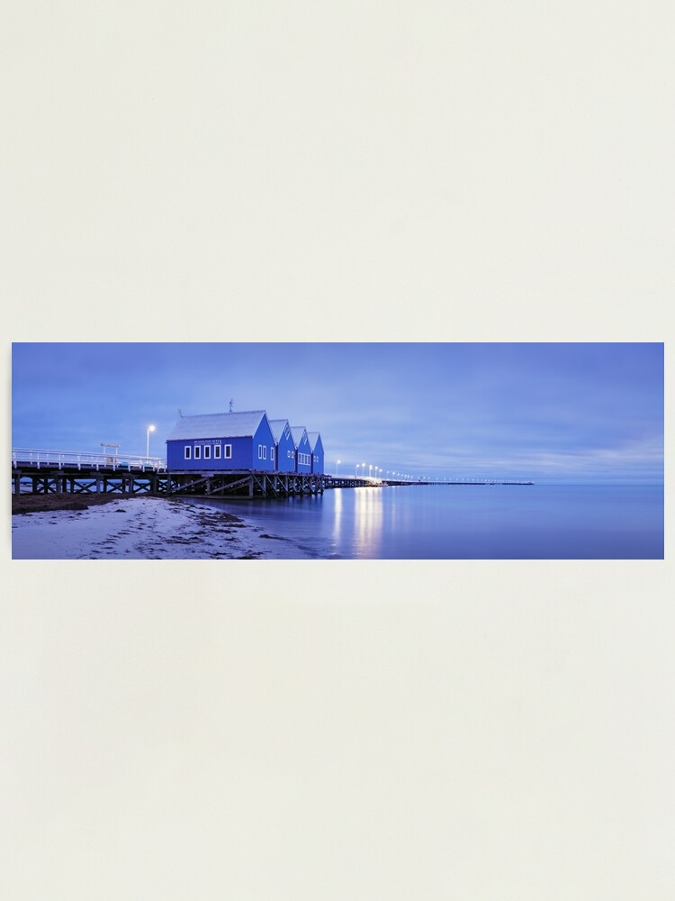 Alternate view of Busselton Jetty, Western Australia Photographic Print