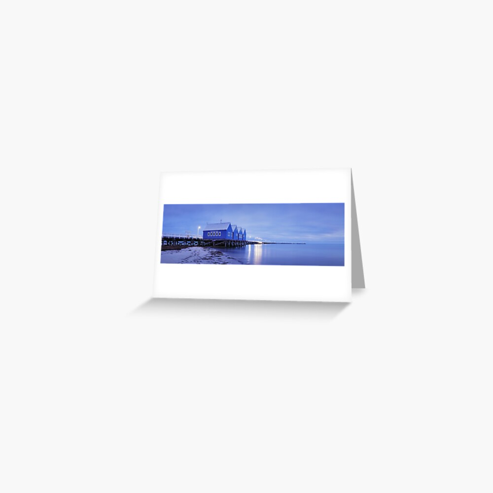 Busselton Jetty, Western Australia Greeting Card