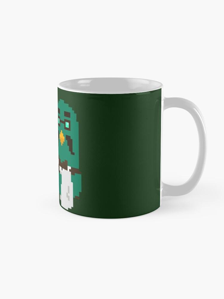 """Alternate view of """"Coo Man"""" Brewster pixel art (Animal Crossing) Mug"""