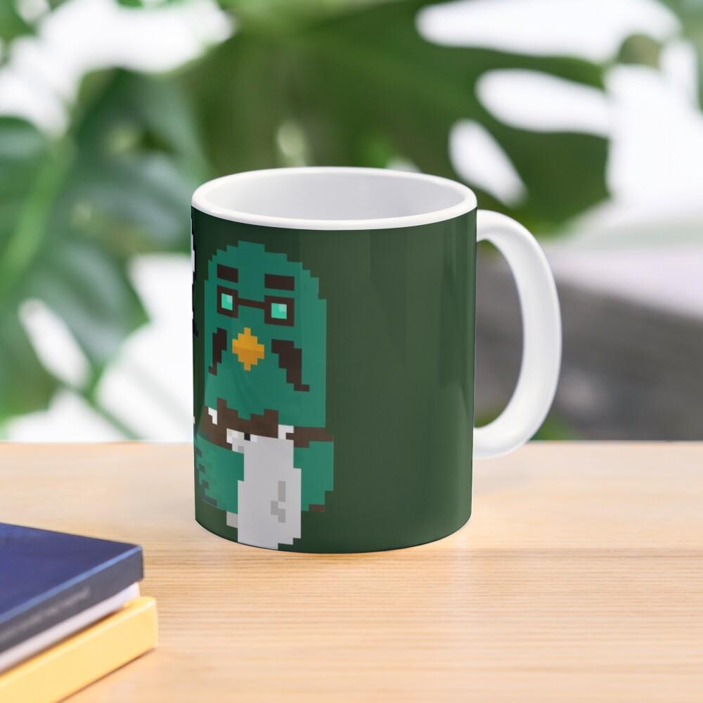"""""""Coo Man"""" Brewster pixel art (Animal Crossing) Mug"""