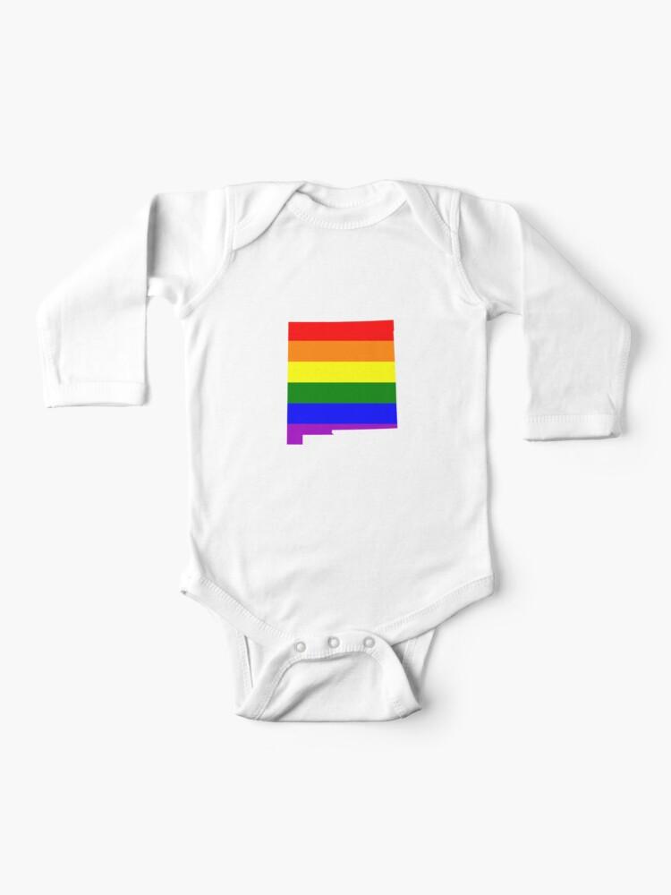 South Dakota LGBT Gay Pride Rainbow White Adult Tank Top