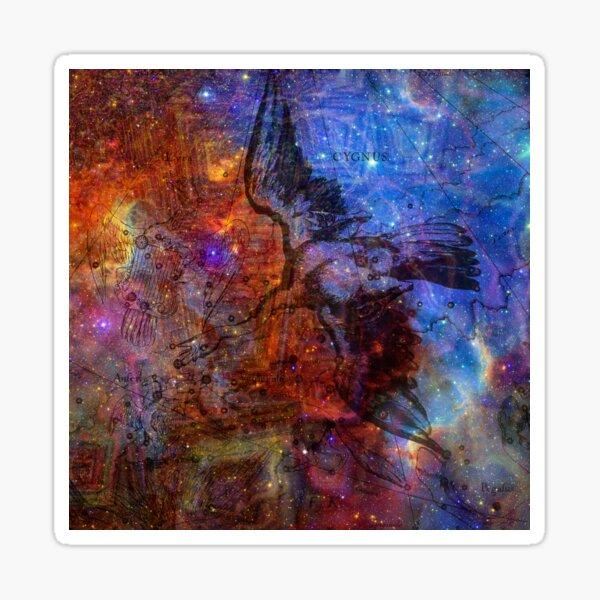 When The Stars Are Right - The North America Nebula in Cygnus Sticker
