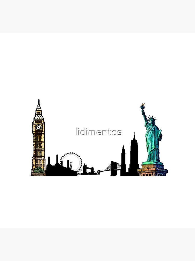 London & New York City by lidimentos
