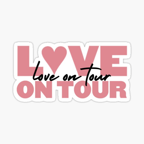 Harry Styles Love On Tour Sticker