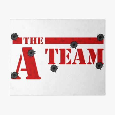 The A-Team Art Board Print