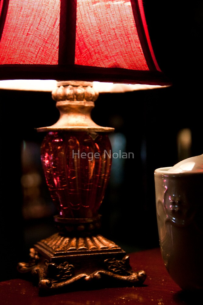 by lamp light by Hege Nolan