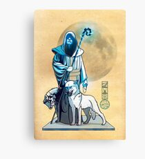 The White Queen's Bishop Canvas Print