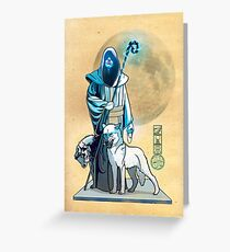 The White Queen's Bishop Greeting Card