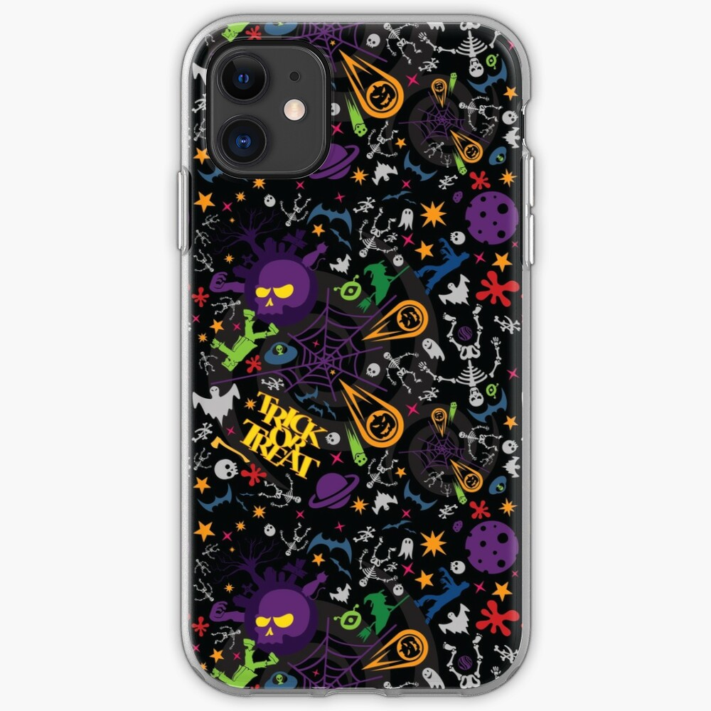 Space is the Place for Halloween iPhone Case & Cover