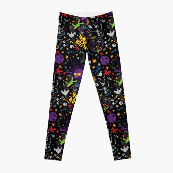 Space is the Place for Halloween Leggings
