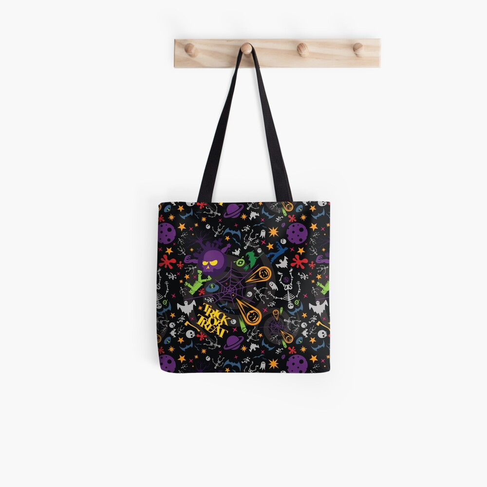 Space is the Place for Halloween Tote Bag
