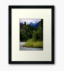Glacier Country (Montana, USA) Framed Print