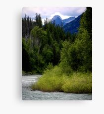 Glacier Country (Montana, USA) Canvas Print