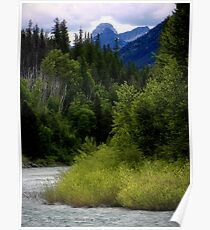 Glacier Country (Montana, USA) Poster