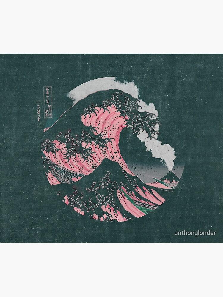 The Great Wave off Kanagawa Mount Fuji Eruption by anthonylonder