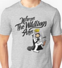 Where The Wildlings Are Unisex T-Shirt
