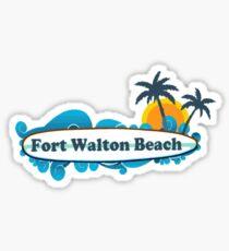 Fort Walton Beach - Florida. Sticker