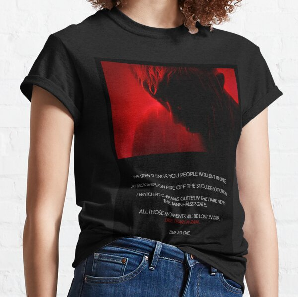 Tears in Red - Text Plate Classic T-Shirt