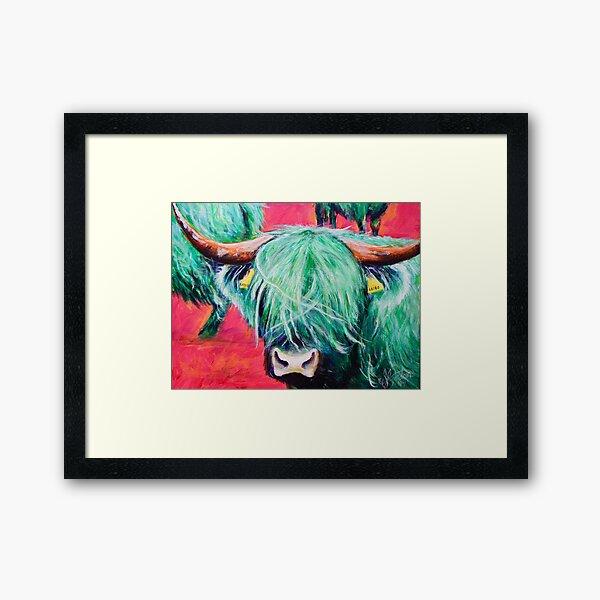 The Green Coo Framed Art Print