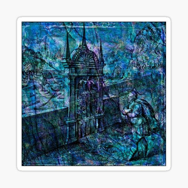 "Alchemical Secrets - ""The Garden Of Philosophers"" Sticker"