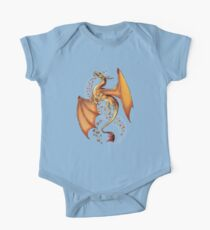 Dragon of Autumn Short Sleeve Baby One-Piece