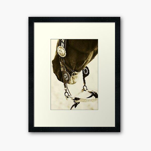 Vaquero Style II Framed Art Print