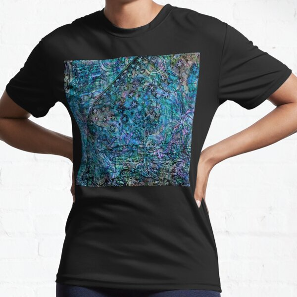 Alchemical Secrets - Where The Earth And Heavens Meet Active T-Shirt