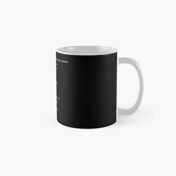 Mr. Meeseeks life in code Classic Mug