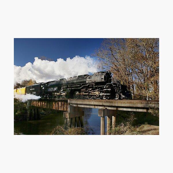 Union Pacific Big Boy 4014 Steam Engine Photographic Print