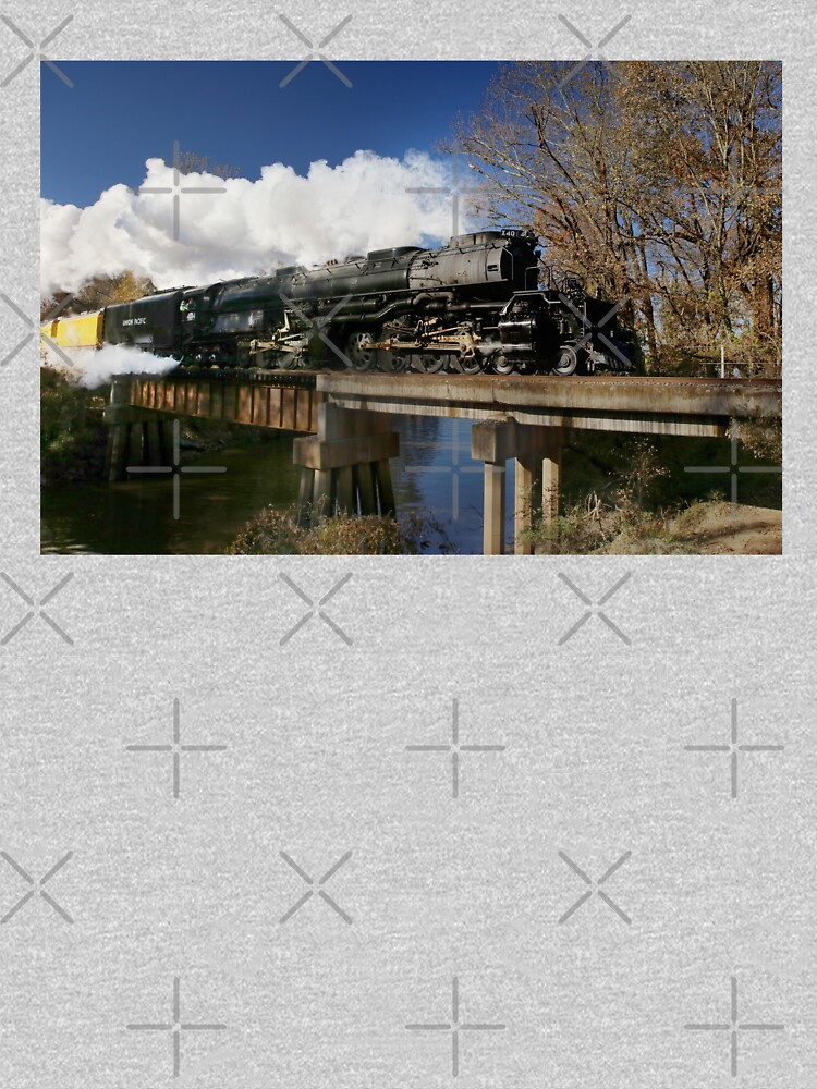Union Pacific Big Boy 4014 Steam Engine by mal-photography