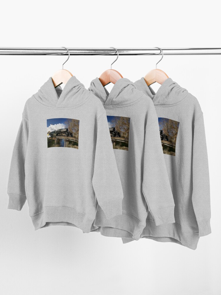 Alternate view of Union Pacific Big Boy 4014 Steam Engine Toddler Pullover Hoodie