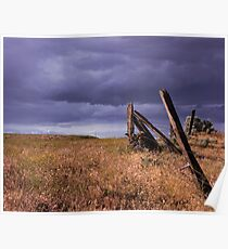 Storm over Knopp Ranch Poster