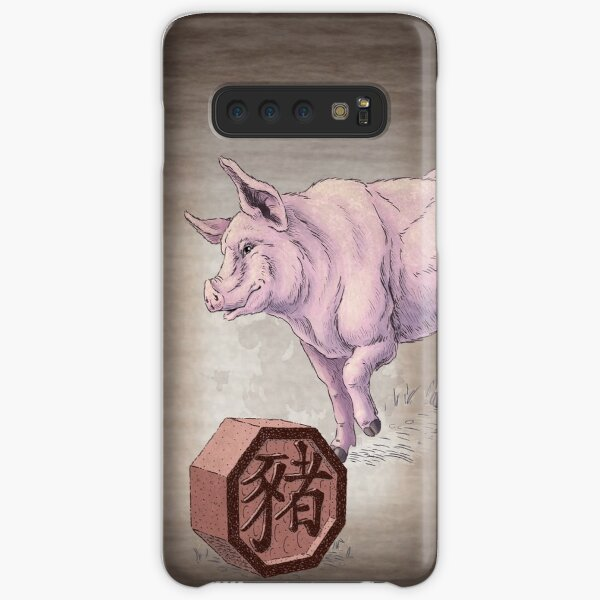 Year of the Pig Card Samsung Galaxy Snap Case