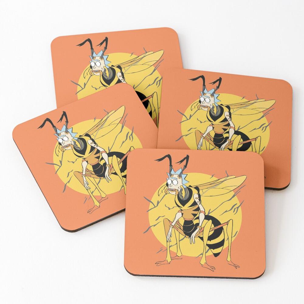 Wasp Rick (Rick & Morty) Coasters (Set of 4)