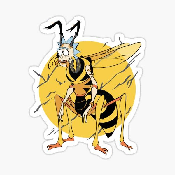 Wasp Rick (Rick & Morty) Sticker