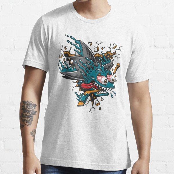 Shark Skater Logo Essential T-Shirt