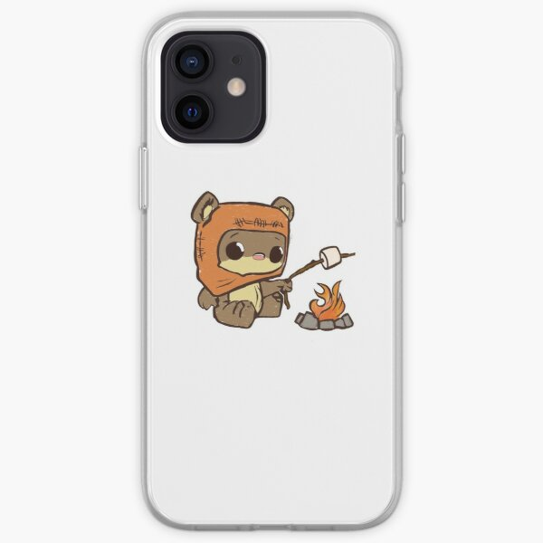 Teddy Bear by the Fire iPhone Soft Case