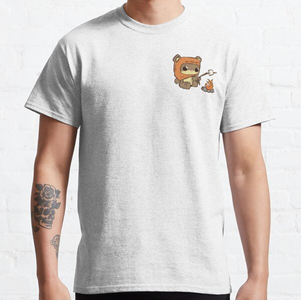 Teddy Bear by the Fire Classic T-Shirt