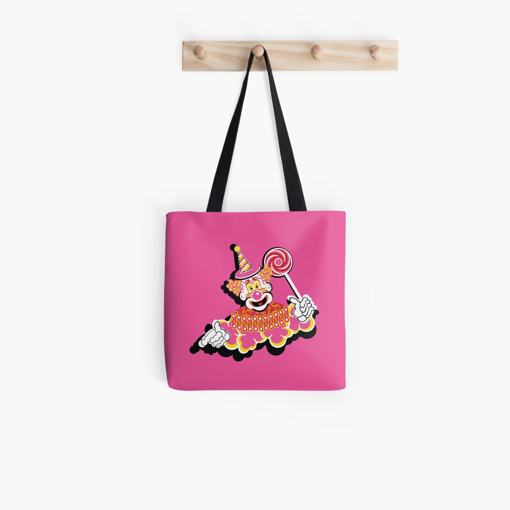Retro Clown Tote Bag