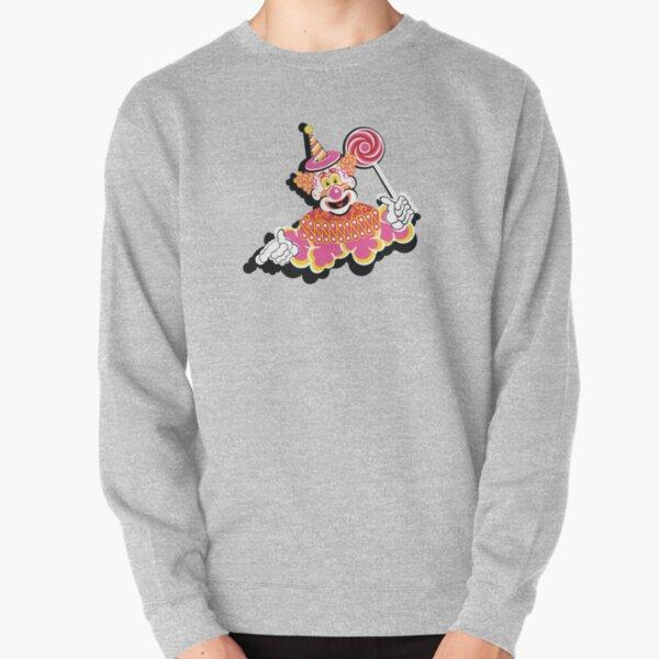 Retro Clown Pullover Sweatshirt