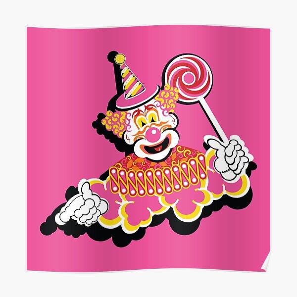 Retro Clown Poster