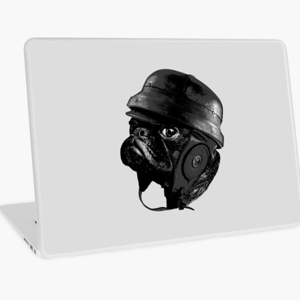 Captain Pug Laptop Skin