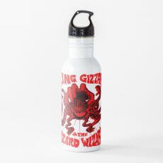 Gizzverse Red Water Bottle
