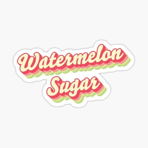 Sandía Azúcar Harry Styles Palabra Arte Pegatina