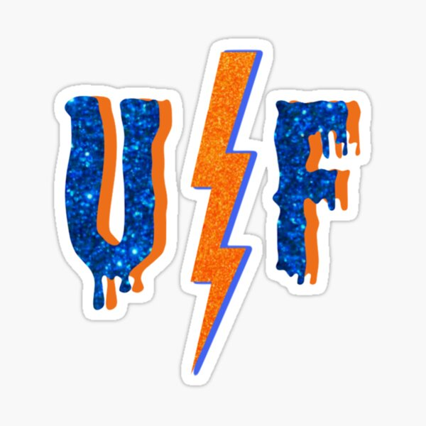 UF GLITTER Sticker