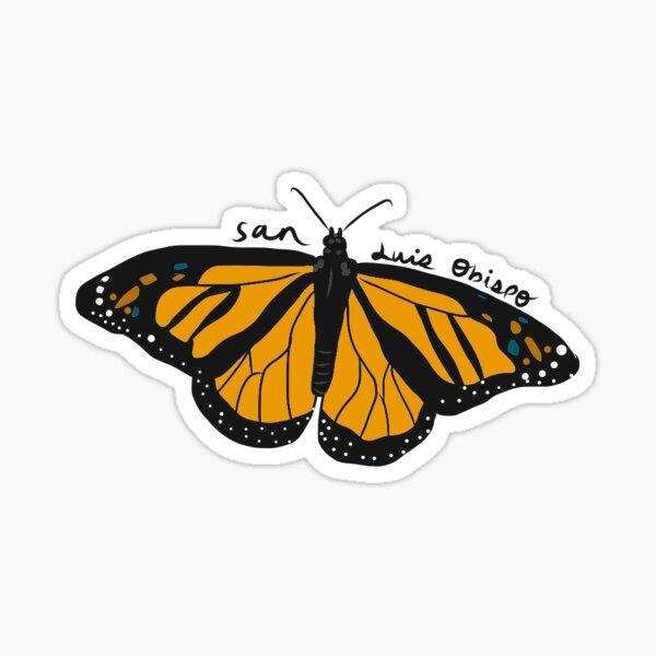 San Luis Obispo Butterfly Sticker