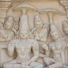 Lord Shiva and His Consort by Indrani Ghose
