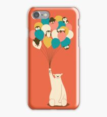 Penguin Bouquet iPhone Case/Skin